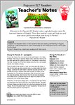 Popcorn - Kung Fu Panda 3 - Teacher's notes (18 pages)