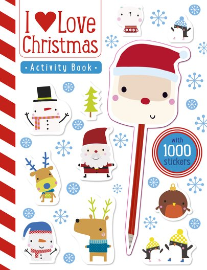 I Love Christmas  Activity Book