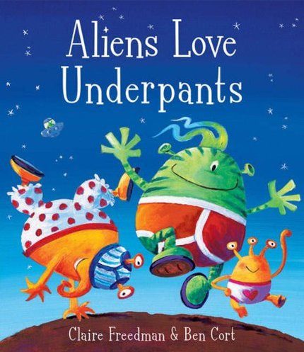 Aliens Love Underpants x 30