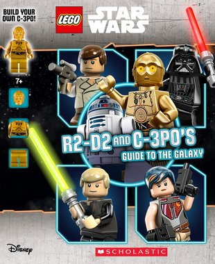 LEGO® STAR WARS™: R2-D2 and C-3P0's Guide to the Galaxy (with Minifigure)