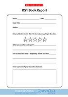 KS1 Book Report