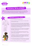 Starting school – physical development (2 pages)