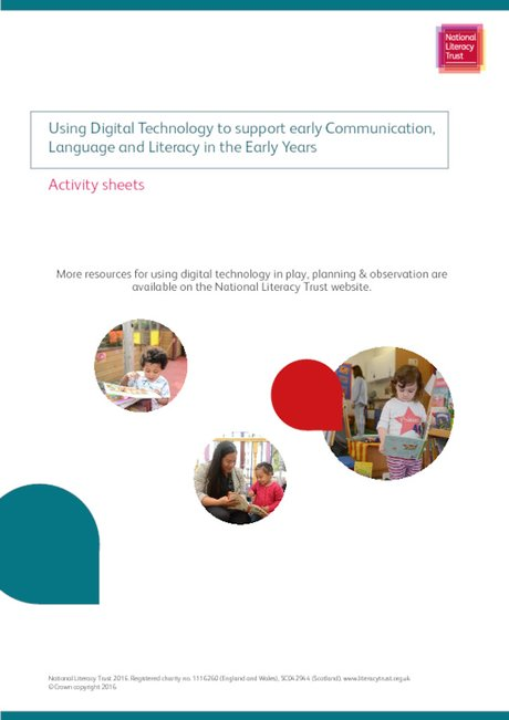 Early Years Digital Technology Activity Sheets