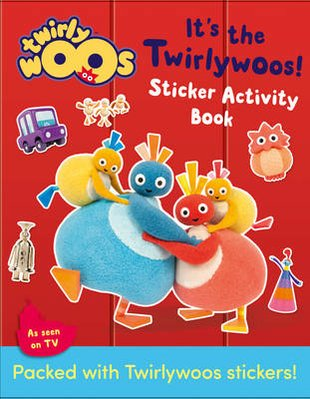 Twirlywoos: It's the Twirlywoos! Sticker Activity Book