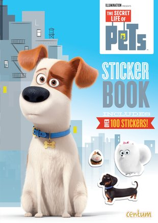 The Secret Life of Pets Sticker Book