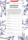 Little Billy and the Gruncher – poem planner