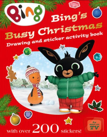 Bing's Busy Christmas: Drawing and Sticker Activity Book