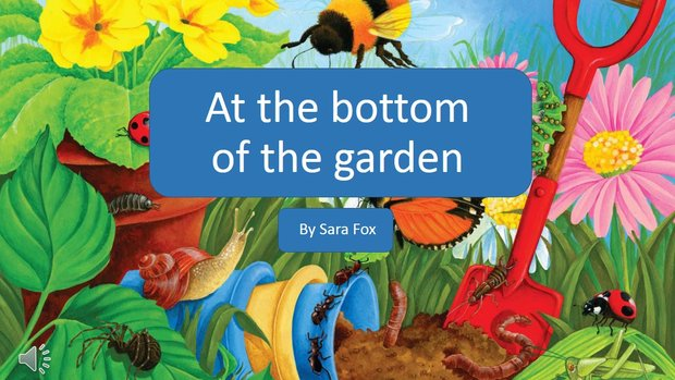 The worm at the bottom of the garden ? lyrics slideshow