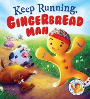 Keep Running,Gingerbread Man!