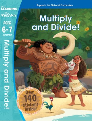 Moana: Multiply and Divide! (Ages 6-7)