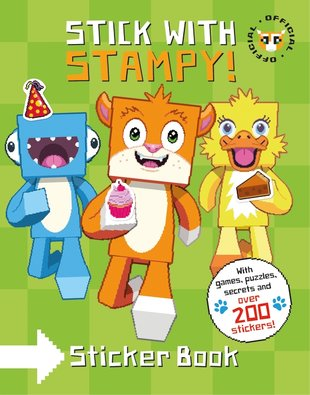 Stick with Stampy! Sticker Book