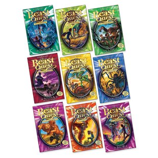 Beast Quest Books 8-16 Pack x 9