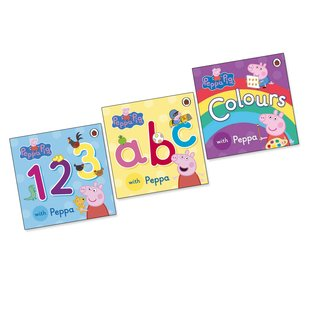 Peppa Pig Wipe-Clean Learning Pack x 4