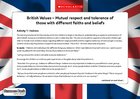 British values – Mutual respect (5 pages)