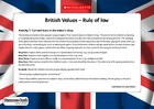 British values – Rule of law (5 pages)