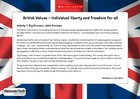 British values – Individual liberty (3 pages)