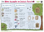 Insect hotel (1 page)