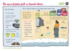 Litter pick or beach clean (1 page)