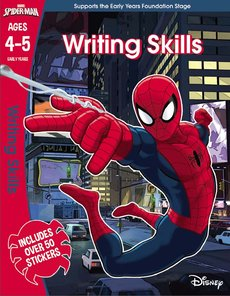 DO NOT FEED OUT Spider-man: Writing Skills, Ages 4-5
