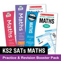 National Curriculum SATs Tests: KS2 Maths Practice and Revision Booster Pack x 8