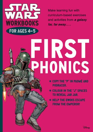 Star Wars Workbooks: First Phonics (Ages 4-5)