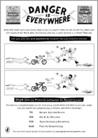 Danger is everywhere activity sheet act puz 1458146