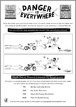 Danger is Everywhere Activity (1 page)