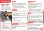 Sport Relief – KS1 topic map (1 page)