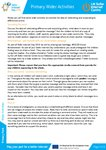 Safer Internet – Wider Activities (2 pages)