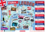 English Poster: Explore London!