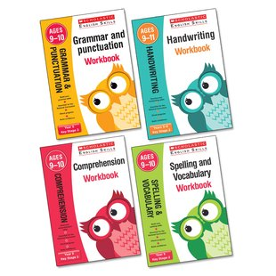 Scholastic English Skills Workbooks Year 5 Pack x 4