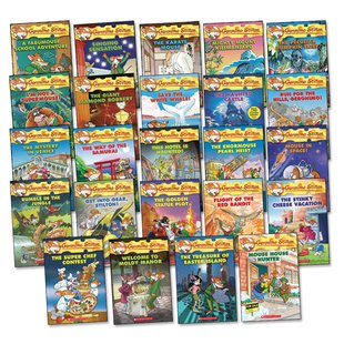 Geronimo Stilton Pack x 24 (Books 38-61)