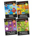 Ladybird: I'm Ready... for Maths! Sticker Workbooks Pack x 4