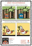 Hoot Owl – spot the difference (1 page)