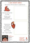 Hoot Owl – Draw your own illustrations (1 page)