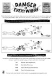 Danger is Everywhere activity sheet (1 page)