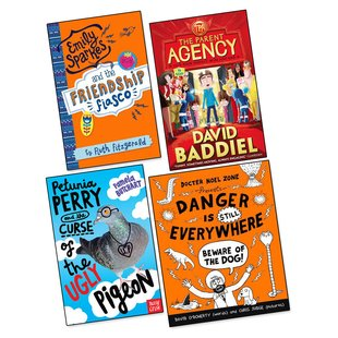 Best Laugh Out Loud Books for Ages 9-13 Shortlist Pack x 4