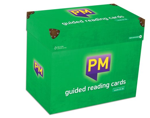 Guided Reading Cards Box Set Levels 25-26