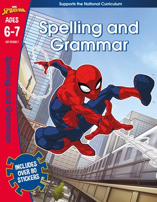 Spider-Man Spelling and Grammar (Ages 6-7)