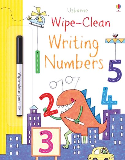 Usborne Wipe-Clean: Writing Numbers
