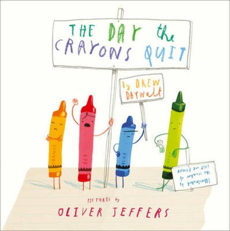 The Day the Crayons Quit (Board Book)