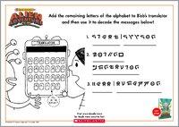 Translator activity sheet 1442436