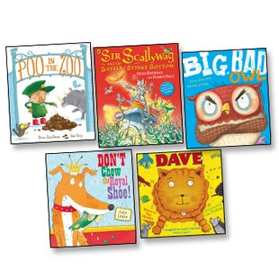 Funny Picture Books Pack x 5