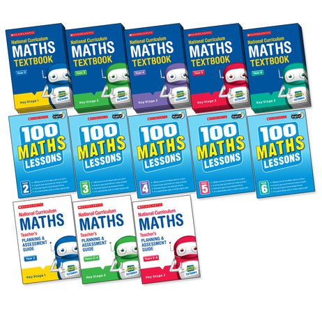 National Curriculum Maths Core Pack x 30 (158 books)