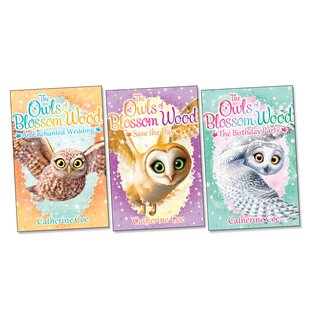 The Owls of Blossom Wood Pack x 3 (Books 3-6)