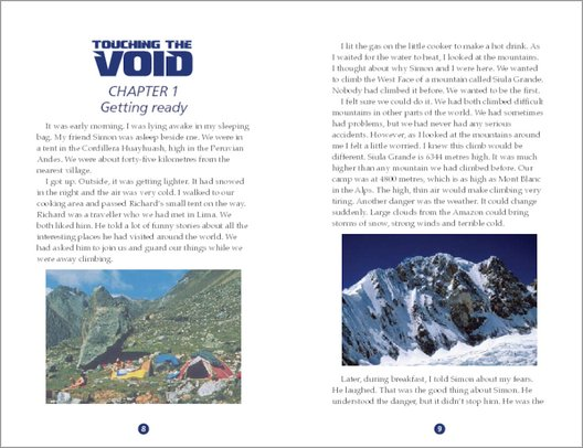 Touching the Void - Sample Page
