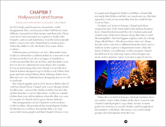 The Story of Chanel - Sample Page