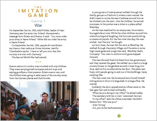 The Imitation Game - Sample Page