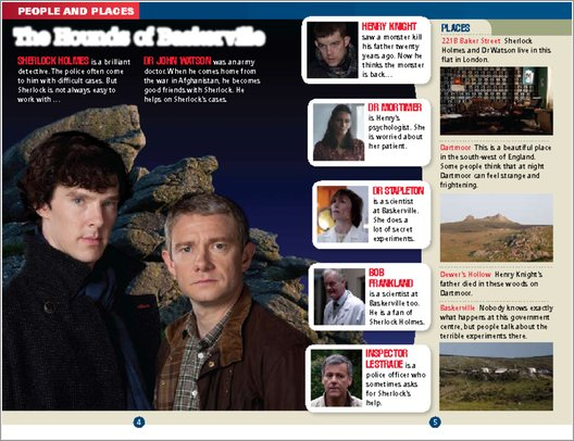 Sherlock: The Hounds of Baskerville - Sample Page