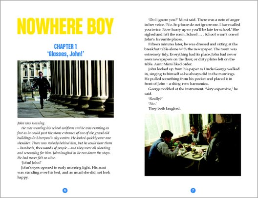 Nowhere Boy - Sample Page